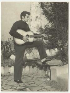 Un giovane Alfonso Lago... in versione Elvis!