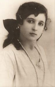 Una giovane Maria Parolin