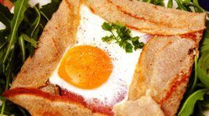 Crêpes salate alla bretone